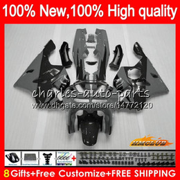 97 zx6r fairing kit Canada - Body For KAWASAKI grey black ZX 636 600CC ZX-636 ZX6R 94 95 96 97 50HC.64 ZX636 ZX-6R ZX600 ZX 6 R 6R 1994 1995 1996 1997 Full Fairing kit