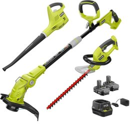 Wholesale RYOBI Outdoor Power Combo Kit 18-Volt Lithium-Ion Cordless Battery Charger