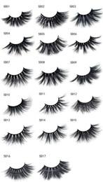 dramatic false eyelashes 2019 - Dropship 5D 25mm eyelashes 17 Styles Long Dramatic 25mm Long Thick eyeLashes Handmade False Eyelash Eye Makeup 2pcs =1pa