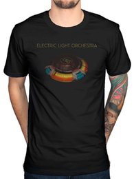 Discount electric beige - Official Electric Light Orchestra Blue Sky Album T-Shirt New Discovery Time Funny free shipping Unisex Casual Tshirt top