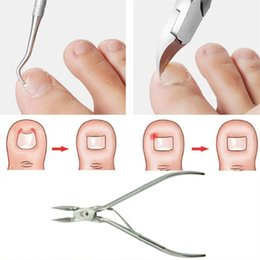 Skins Cutter Australia - Dead Skin Dirt Remover+ Podiatry Pedicure Care Tool 2Pcs Ingrown Toe Nail Correction Nippers Clipper Cutters Nail Tool
