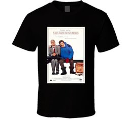 Fan Planes NZ - Planes' Trains and Automobiles Cool 80's Comedy Vintage Classic Movie Poster Fan Funny free shipping Unisex Casual Tshirt top