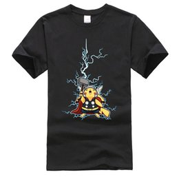 flash superhero cartoon 2019 - Amazing Thor Flash Superhero New Tshirts Marval Endgame Brand New Fashion Cartoon Men T Shirt Cheap cheap flash superher