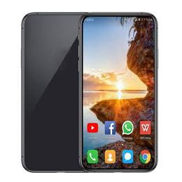 Großhandel Grün Tag Goophone 11 Max 6.5 Zoll Pro Max Goophone Face ID drahtlose Aufladen WCDMA 3G Quad Core 1 GB ROM pro 16GB Kamera 8.0MP anzeigen 512GB