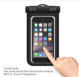 $enCountryForm.capitalKeyWord Australia - Universal For iphone 7 6 6s plus samsung S9 S7 Waterproof Case bag Cell Phone Water proof Dry Bag for smart phone up to 5.8 inch DHL ship
