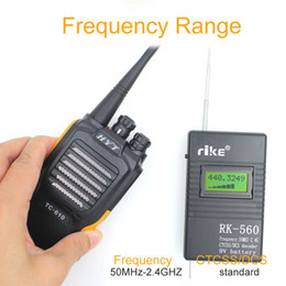 Radio counteR online shopping - 50MHz GHz Portable Handheld Frequency Counter RK560 DCS CTCSS Radio Tester RK Frequency Meter