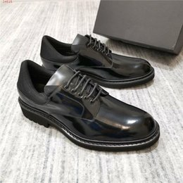 $enCountryForm.capitalKeyWord Canada - Leather leather shoes with European style for men Designer designs top men business dress banquet wedding shoes