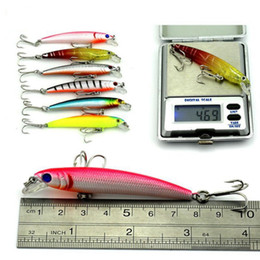 Fish pc games online shopping - 43 mixed fishing lure set artificial fishing lure kit wobblers Minnow crankbait strongly fishing hard bait