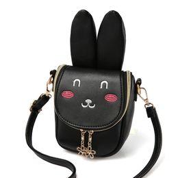 $enCountryForm.capitalKeyWord Australia - Children Girl Handbag Shoulder Crossbody Bag Zipper Cute Bunny Durable Package Pouch Gift good quality