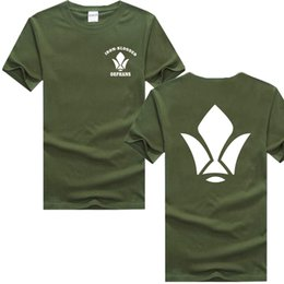 $enCountryForm.capitalKeyWord Australia - Mobile suits Gundam Iron blooded Orphans Tekkadan t shirts Tekkadan emblem printing Gundam fans t shirts Army green t shirt