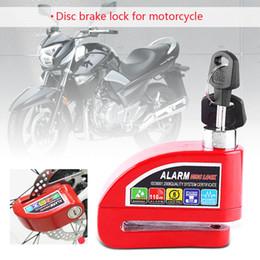 security reminder 2019 - Universal Aluminum Alloy Wheel Alarm Bicycle Reminder Scooter Motorbike Security Motorcycle Anti-theft Brake Disc Lock D