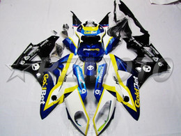 Motorcycle abs fairing kit bMw online shopping - New ABS Injection Mold motorcycle fairings kit Fit for BMW S1000RR custom blue yellow