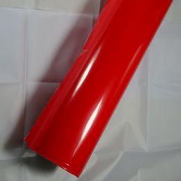 $enCountryForm.capitalKeyWord Australia - GLOSSY CAR WRAP FILM auto body wraps vinyl car wrap colors with Air Bubble 1.52x30m Roll 4.98x98ft