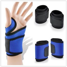 $enCountryForm.capitalKeyWord Australia - Wristband Women Men Weight Lifting Adjustable Sport Support Wrist Thumb Wraps Bandage Fitness Training Safety HandBands