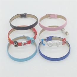 Diy Fashion Bracelets Australia - Zoukane Sales 8MM High Quality PU Leather Wristband Bracelet DIY Accessory Fashion Wristband Fit 8MM Slide Letter Slide Charms WB02-1