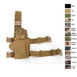 $enCountryForm.capitalKeyWord NZ - Outdoor Sports Assault Combat Camouflage Molle Pack Nylon Fabric Quick Release Camo Tactical leg Holster NO17-201