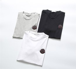 Designer v neck tees online shopping - 2019 Summer New Arrival High Quality Designer Men s Clothing T Shirts M Print Tees Size M XL