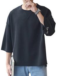 Mens Hiphop T Shirts Australia - Mens Fashion Japanese Style Hiphop Tshirt Streetwear Men Clothing Loose Funny T Shirts Causal Youth T-shirt Man Summer Tee Tops C19041702