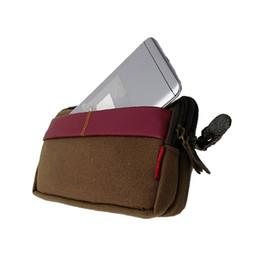 ba75bf040d8 Venta caliente Caja de la cintura Bolsa de la cremallera Teléfono de la  caja del teléfono móvil Táctico Camo Cinturón Bolsa Bolsa de accesorios  Mochila