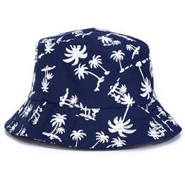 $enCountryForm.capitalKeyWord Canada - New Summer Fashion Unisex Leaves Bucket Hat Adult Men Women Hip Hop Caps Hiking Outdoor Beach Sunhat Fishing Hat