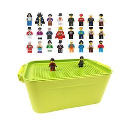 Storage Blocks Australia - 100 City Compatible Building Blocks Diy Brinquedos Storage Box Boy Girl Toys Gifts Bricks Mini Figures Or Not For Children Q190521