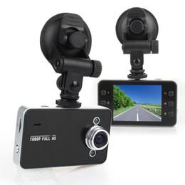 Digital Cameras Vision Australia - DVR K6000 NOVATEK 1080P Full HD LED Night Recorder Dashboard Vision Veicular Camera dashcam Carcam video Registrator Car DVR