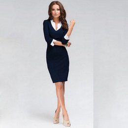 $enCountryForm.capitalKeyWord Australia - Nice Pop Elegant Women Office Lady Formal Wear Business Work Party Pencil Dress Suit Cgu 88