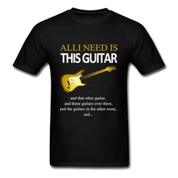 music man guitars Australia - Men T Shirts Unique All I Need Is This Guitar High Quality Music Rock Short Sleeve Men T Shirt Clothes