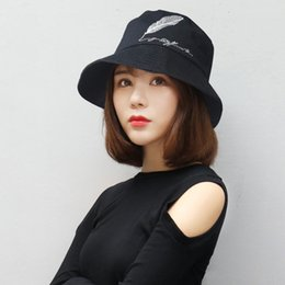 6cbec954c1a8e Bucket Hat Embroidery Australia - New Korean embroidery letters autumn and  winter hat women Corduroy fisherman