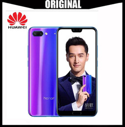 huawei new phones 2019 - New arrival Huawei Honor 10 5.84 inch 2280x1080p Honor10 screen Mobile Phone Octa Core face ID NFC android 8.1 3400mAh b