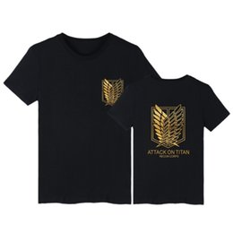 $enCountryForm.capitalKeyWord UK - Onslaught Real Giant Sweater Three Li Investigation Corps Short Sleeve T Pity Men And Women Cosplay Comic Other