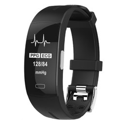 electronics ratings Australia - KAIHAI H66 blood pressure wrist band heart rate monitor PPG ECG smart bracelet Activit fitness tracker electronics wristband