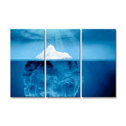 Art Canvas Prints Australia - 3 pieces of HD print submarine surface canvas painting poster and wall art living room picture HDBM3-1C