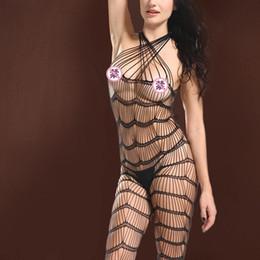 $enCountryForm.capitalKeyWord Australia - Body Stocking High Elasticity Sexy Open Crotch Net Bodysuit Hot Lingerie Jumpsuits sexy Lingerie Bodysuit lingeries woman lingeries lace