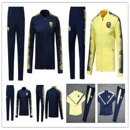 eb57330d9 2018 2019 Mexico club America jacket training 18 19 GUERRON CALDERON  CASTILLO football Cougar UNAM Football jackets tracksuit