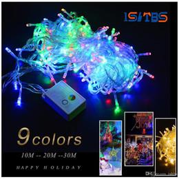 $enCountryForm.capitalKeyWord Australia - 110V 220V 10M 20M 30M RGB holiday light LED String Light EU plug Christmas Wedding Party Decor Lights outdoor led lamp Waterproof