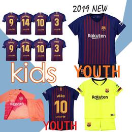 59a1794d4 2019 Kids Kit Barcelona home Football Jersey 18 19 #10 MESSI Away Boy  Soccer Jerseys #11 O.DEMBELE #8 ARTHUR Child Soccer Shirts