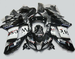 Custom Zx636 Australia - TOP quality New ABS motorcycle Fairings kits fit for kawasaki 07 08 ZX 6R 636 2007 2008 Ninja ZX6R ZX636 fairing set custom west