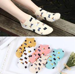 Hot lady cartoon online shopping - price ladies cartoon socks summer hot sale women short cotton breathable sock ankle cat cute sock