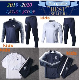 74ac9984 2 Stars Maillot de Foot kids survetement Home jerseys football jogging  Equipe de france new long sleeve soccer tracksuit,training track suit