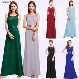 f934e97a6e67 Evening Dress Long Ever Pretty EP08938 Mermaid Women Lace vestidos de  fiesta largos elegantes de gala 2018 Plus Size Party