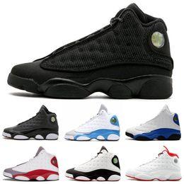 cheap for discount faa8b 3c433 High Quality Jumpman 13 Bred Chicago Flint Men Women Basketball Shoes 13s  He Got Game Melo DMP Grey Toe Hyper Royal Sneakers