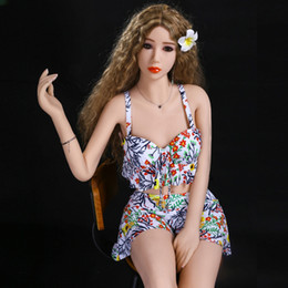 sex lips UK - Sex Dolls Silicone Love Doll 155 Cm Human Big Breast Sex Dolls,lifelike Vagina Anal Sex Oral,metal Skeleton,sexy Lips,full Hips