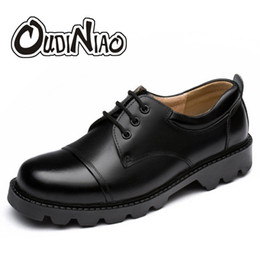$enCountryForm.capitalKeyWord Australia - OUDINIAO Mens Shoes Large Sizes Casual British Genuine Cow Leather Men Shoes Footwear Army Officer Classic Men Black