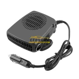 12v car defroster Canada - 12v 200w Auto Car Vehicle Portable Dryer Heater Heating Cooler Fan Demister Defroster 2 In 1 Warm  Hot Cold