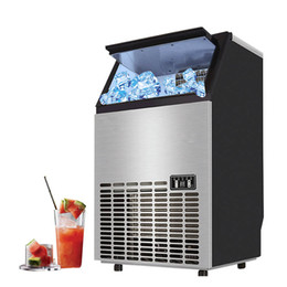 block shop Australia - Qihang_top 55 68 80kgs 24H Commercial Cube Ice Maker  Square Ice Block Machine Electric  Ice Cube Maker for Bar and Juice shop