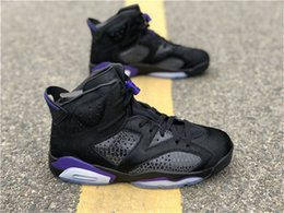Social Shoes Men Australia - Top Quality 2019 Air High NRG 6 SP Social Status Men Basketball Shoes 3M Black Dark Concord AR2257-005 Authentic Shoes With Box