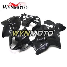 Abs Plastic For Hayabusa Australia - Motorcycle Fairings For Suzuki GSXR1300 Hayabusa 1997 1998 1999 2000 2001 2002 2003 2004 2005 2006 2007 ABS Plastic Cowlings Gloss Black