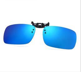 $enCountryForm.capitalKeyWord UK - Special square clip for myopia polarizing film Sunglasses flip clip driver night vision lens clip