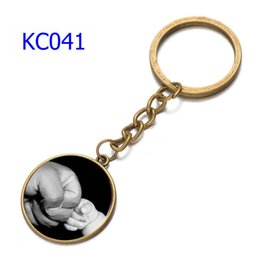 $enCountryForm.capitalKeyWord Australia - 66 Styles Alloy Father and Son Hand Keychains Harry Potter Car Keychains Time Gem Single Side Father's Day Gift Keychain
